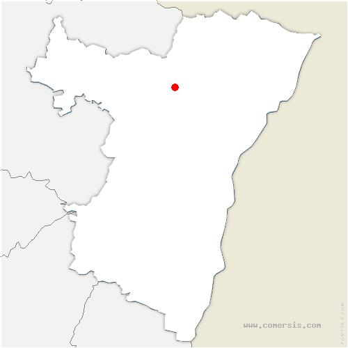 carte de localisation de Kindwiller