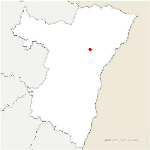 carte de localisation de Kriegsheim