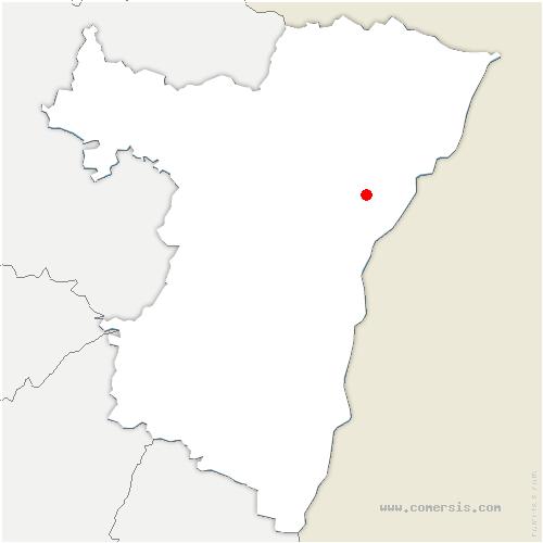 carte de localisation de Kurtzenhouse