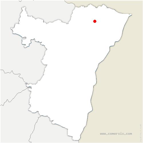 carte de localisation de Kutzenhausen