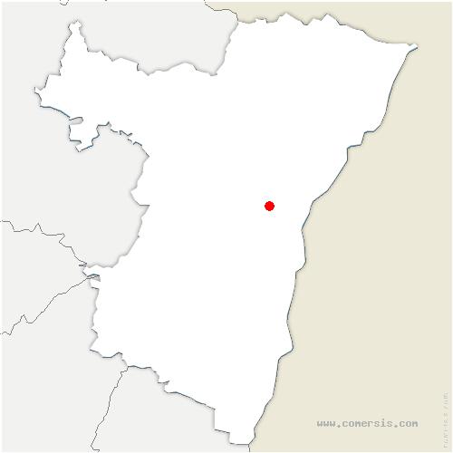 carte de localisation de Lampertheim