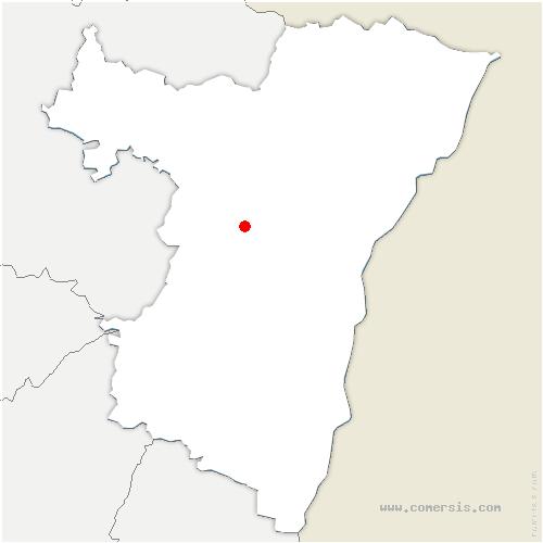 carte de localisation de Landersheim