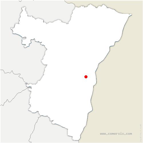 carte de localisation de Lingolsheim