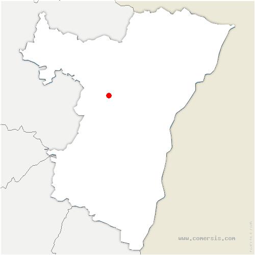 carte de localisation de Lupstein