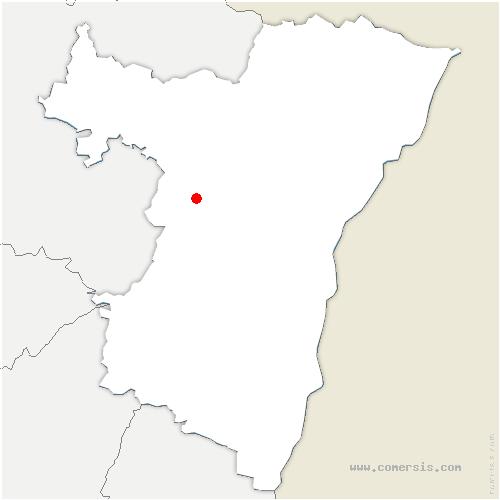 carte de localisation de Marmoutier