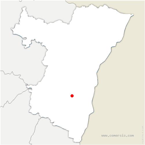 carte de localisation de Meistratzheim