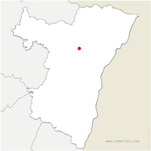 carte de localisation de Minversheim