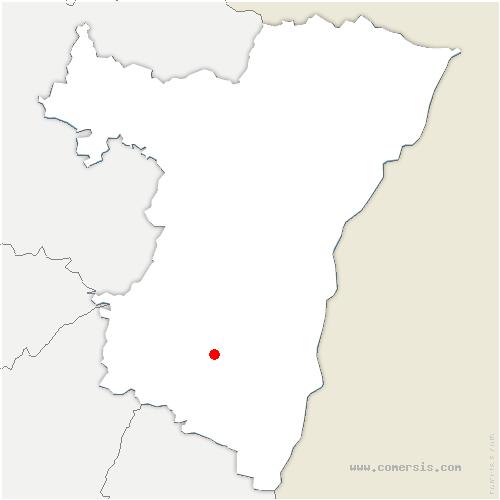 carte de localisation de Mittelbergheim