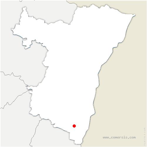 carte de localisation de Mussig