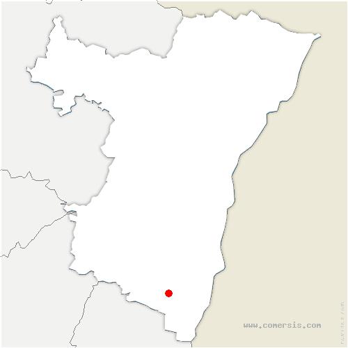 carte de localisation de Muttersholtz