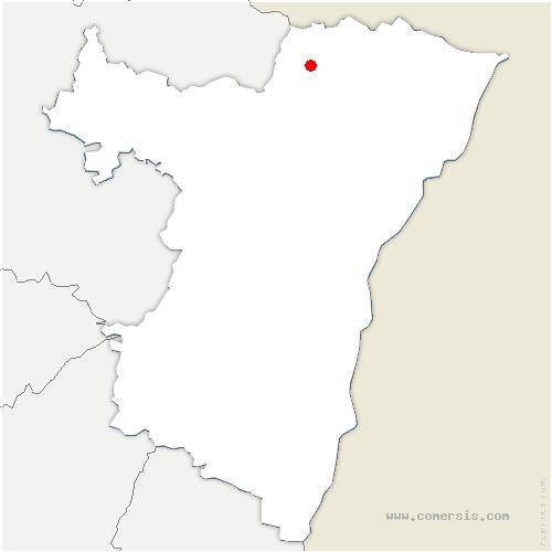 carte de localisation de Niederbronn-les-Bains