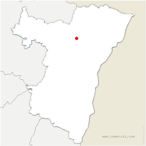 carte de localisation de Niedermodern