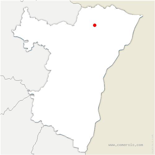 carte de localisation de Oberdorf-Spachbach