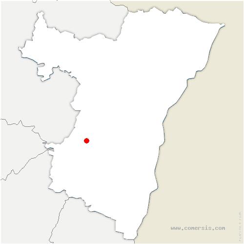 carte de localisation de Oberhaslach