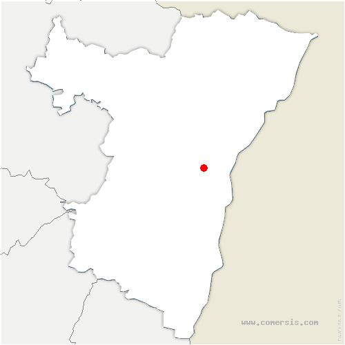 carte de localisation de Oberhausbergen