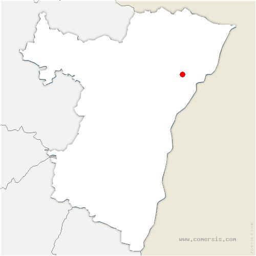 carte de localisation de Oberhoffen-sur-Moder