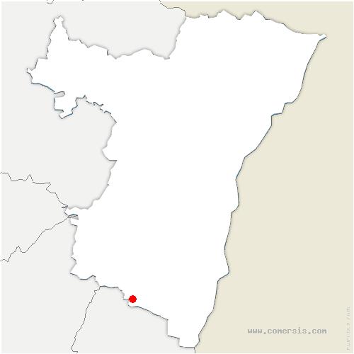 carte de localisation de Orschwiller