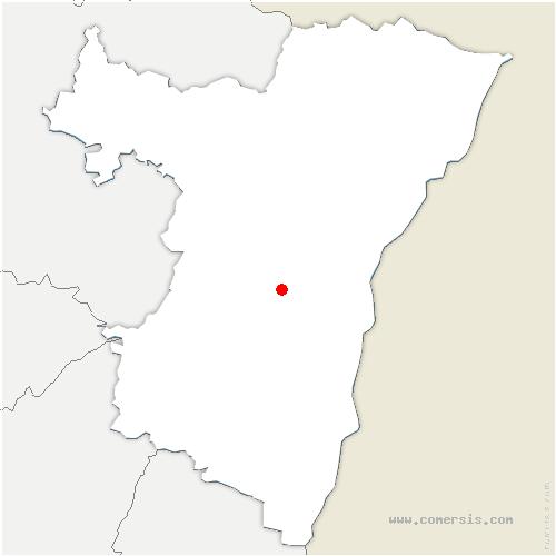 carte de localisation de Osthoffen