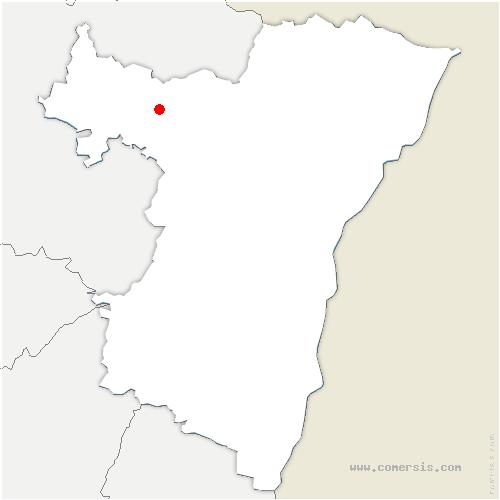 carte de localisation de Petite-Pierre