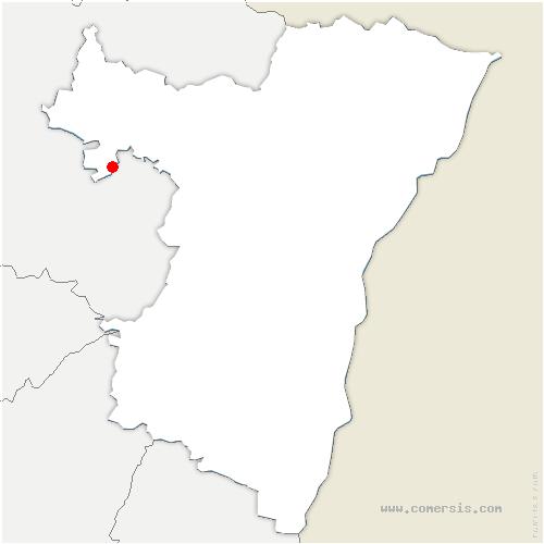 carte de localisation de Rauwiller