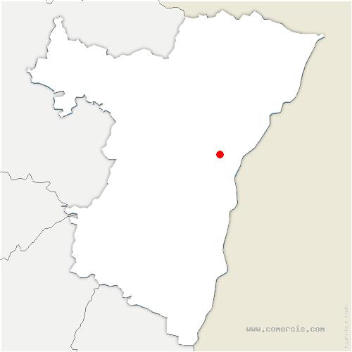 carte de localisation de Reichstett