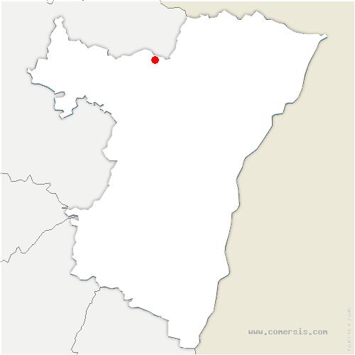 carte de localisation de Reipertswiller