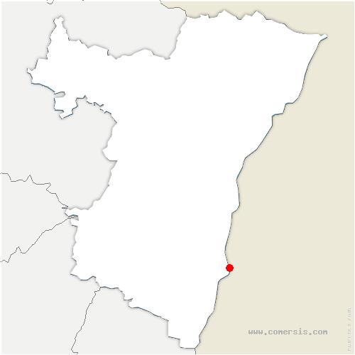 carte de localisation de Rhinau