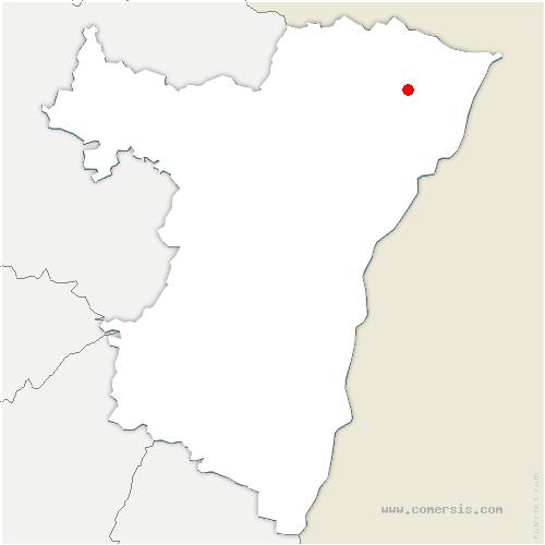 carte de localisation de Rittershoffen