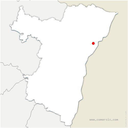 carte de localisation de Rohrwiller