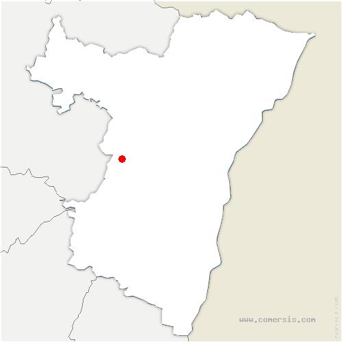 carte de localisation de Romanswiller