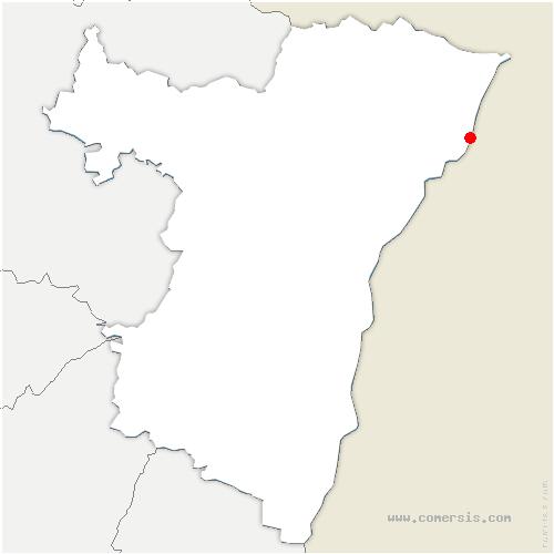 carte de localisation de Roppenheim
