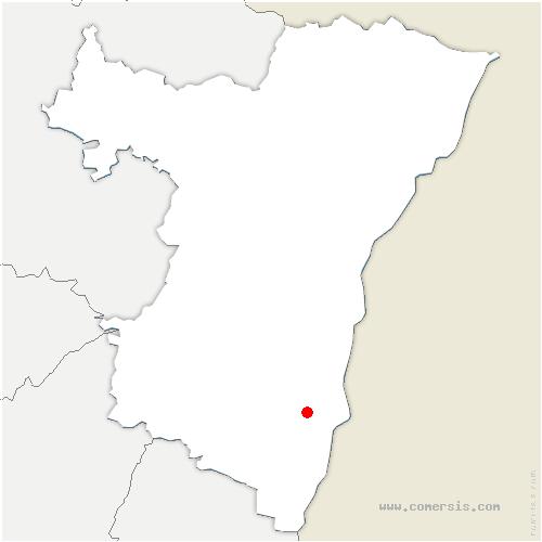 carte de localisation de Rossfeld