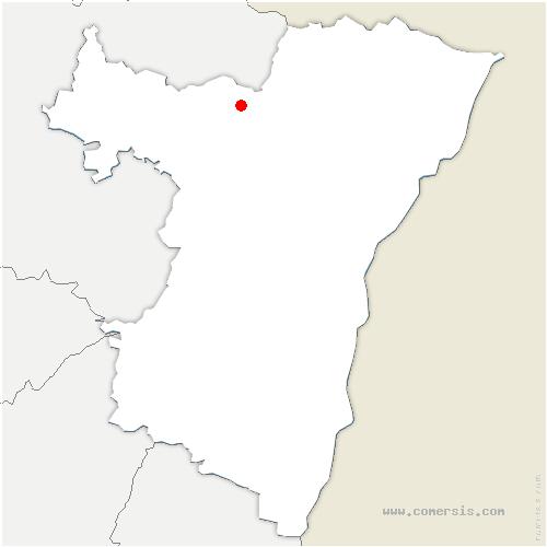 carte de localisation de Rothbach