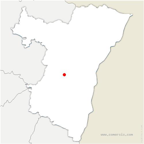 carte de localisation de Scharrachbergheim-Irmstett