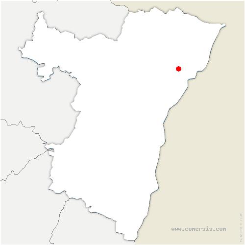carte de localisation de Schirrhoffen