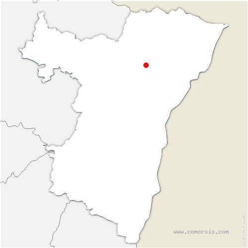 carte de localisation de Schweighouse-sur-Moder