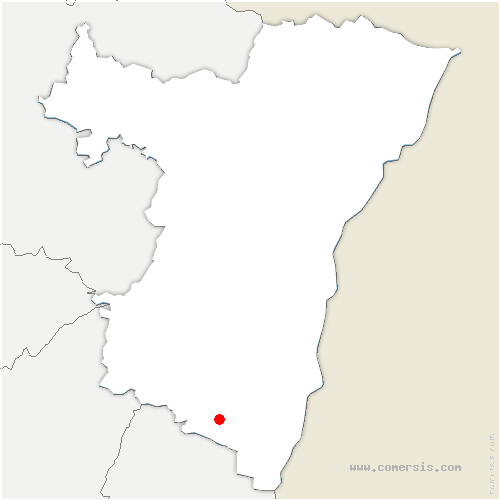 carte de localisation de Sélestat