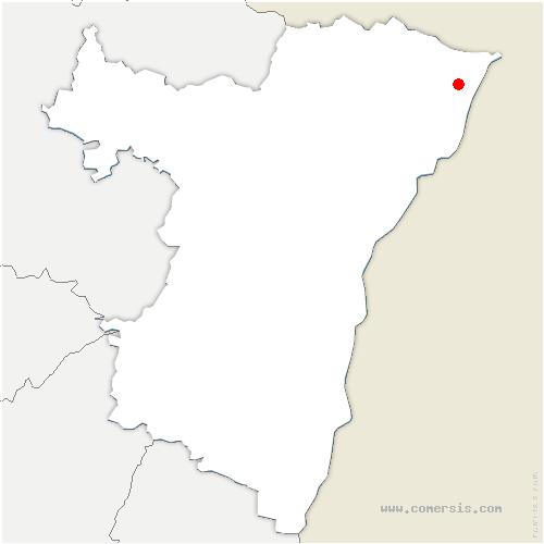 carte de localisation de Seltz