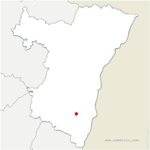 carte de localisation de Sermersheim