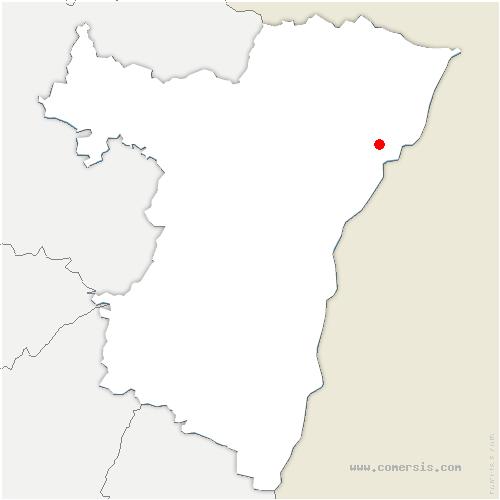 carte de localisation de Sessenheim