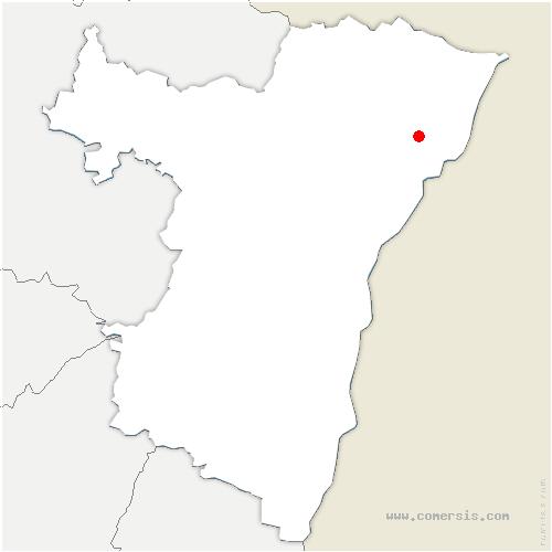 carte de localisation de Soufflenheim