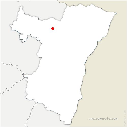 carte de localisation de Sparsbach