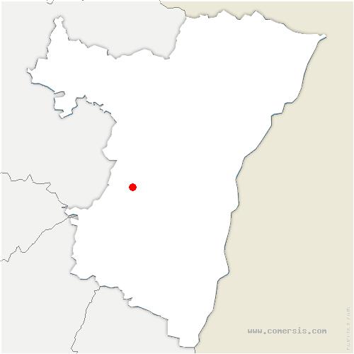 carte de localisation de Still