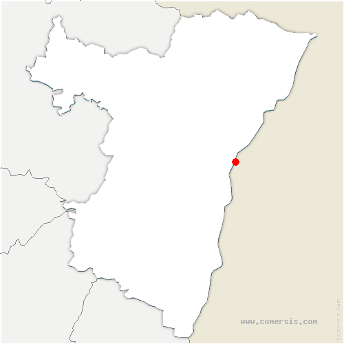 carte de localisation de Strasbourg