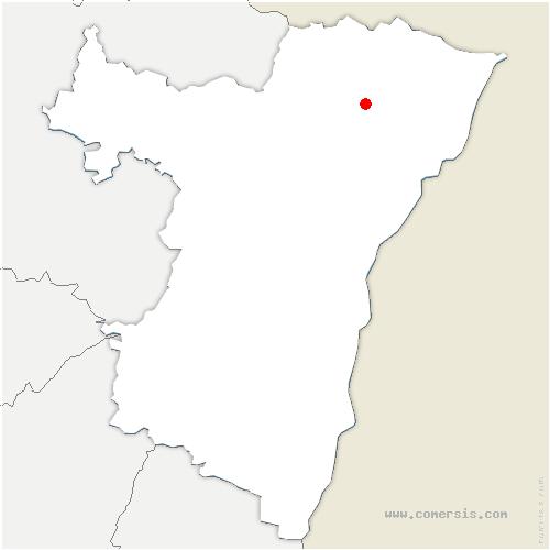 carte de localisation de Surbourg