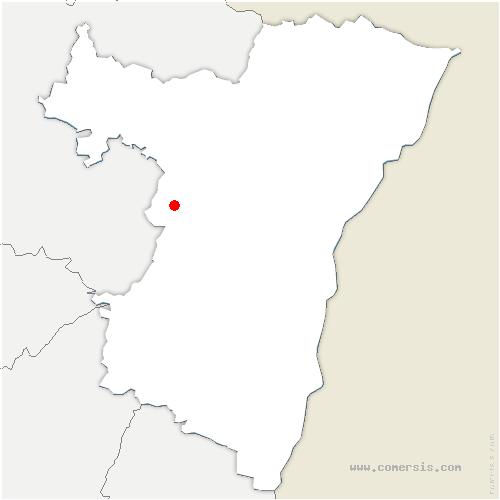 carte de localisation de Thal-Marmoutier