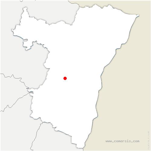 carte de localisation de Traenheim