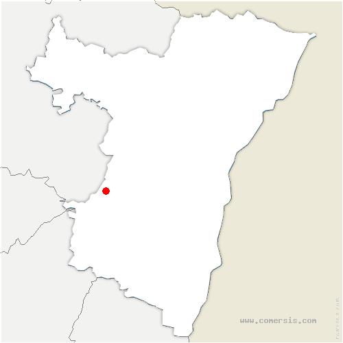carte de localisation de Urmatt
