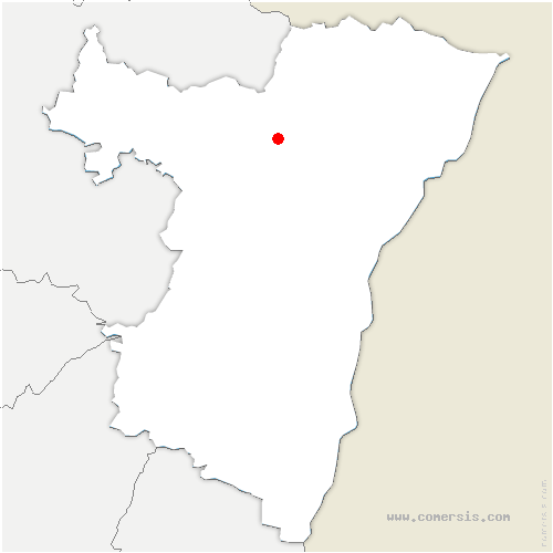 carte de localisation de Val-de-Moder