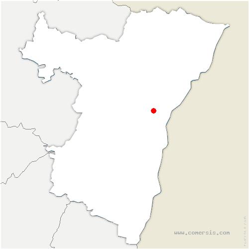 carte de localisation de Vendenheim